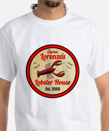 Lobster House 1- White T-Shirt