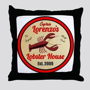 Lobster House 1- Throw Pillow