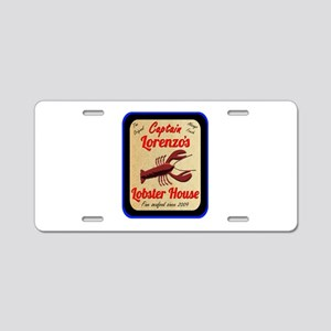 Lobster House 2 - Aluminum License Plate