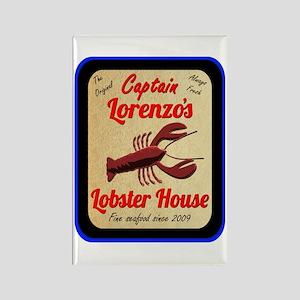 Lobster House 2 - Rectangle Magnet