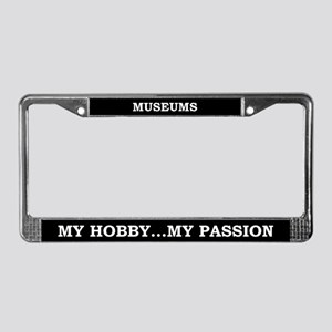 Museums License Plate Frame