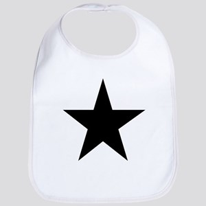 Black 5-Pointed Star Bib