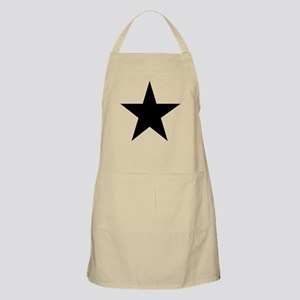 Black 5-Pointed Star Apron