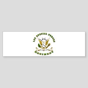 SOF - 1st SF Regiment Sticker (Bumper)