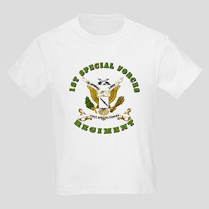SOF - 1st SF Regiment Kids Light T-Shirt