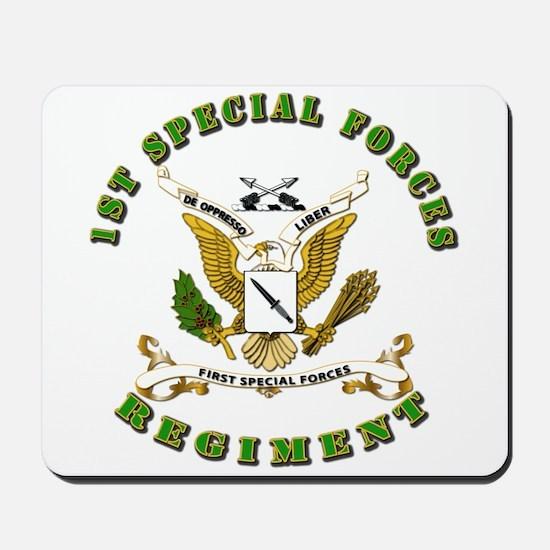 SOF - 1st SF Regiment Mousepad
