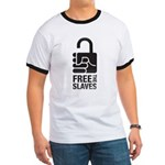 free grey metallic T-Shirt