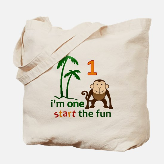 Monkey Fun One Tote Bag