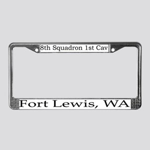 8th Squadron 1st Cavalry License Plate Frame