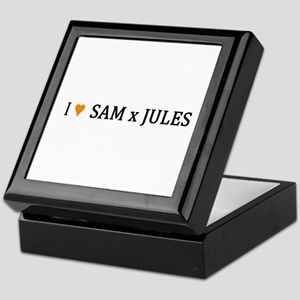 I(HEART)SamxJules Keepsake Box