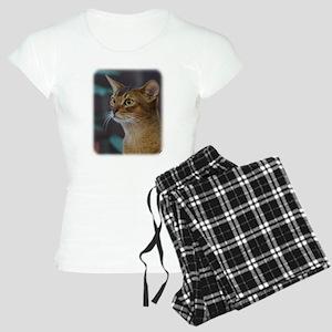 Abyssinian Cat AA025D-018 Women's Light Pajamas