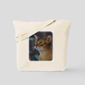 Abyssinian Cat AA025D-018 Tote Bag