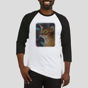 Abyssinian Cat AA025D-018 Baseball Jersey