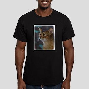 Abyssinian Cat AA025D-018 Men's Fitted T-Shirt (da