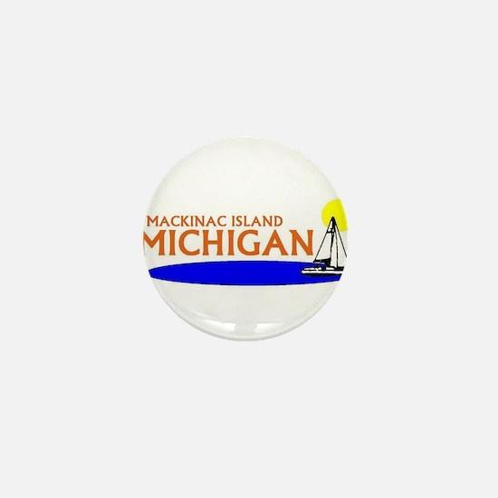 Cool Mackinac island Mini Button