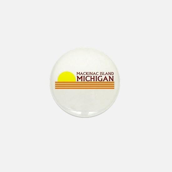 Cute Mackinac island Mini Button