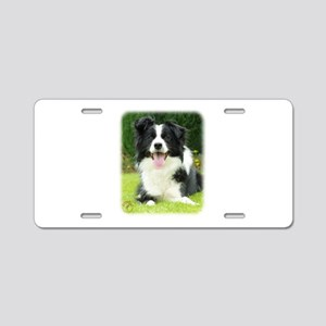 Border Collie 9A014D-14 Aluminum License Plate