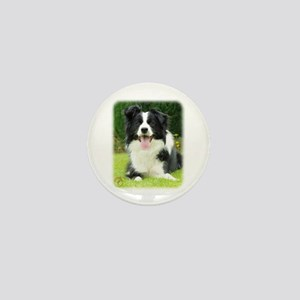 Border Collie 9A014D-14 Mini Button