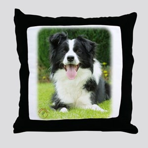 Border Collie 9A014D-14 Throw Pillow