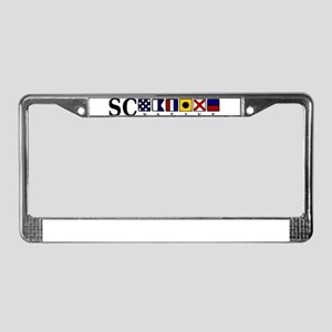 SC native License Plate Frame