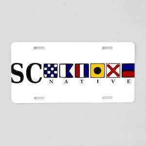 SC native Aluminum License Plate