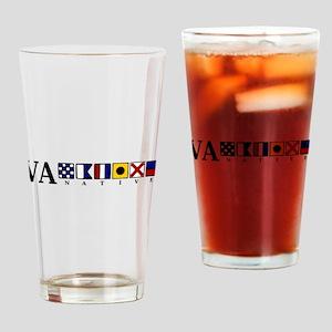 VA native Pint Glass