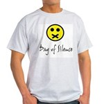 Day of Silence Ash Grey T-Shirt