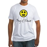 Day of Silence Fitted T-Shirt