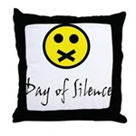 Day of Silence Throw Pillow