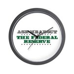 Federal Reserve - Ask Me Wall Clock