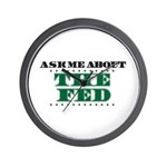 The Fed - Ask Me Wall Clock