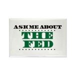 The Fed - Ask Me Rectangle Magnet (10 pack)