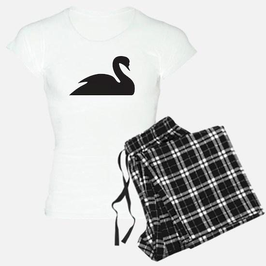 Black Swan Silhouette Pajamas