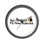 Home Business - Ask Me Wall Clock