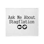 Stagflation - Ask Me Throw Blanket