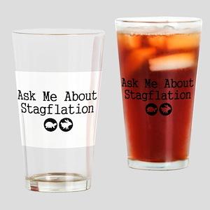 Stagflation - Ask Me Pint Glass