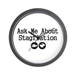 Stagflation - Ask Me Wall Clock