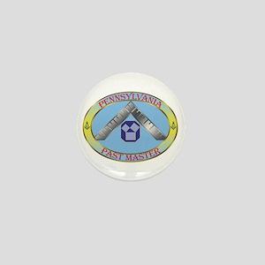 PA Past Master Mini Button