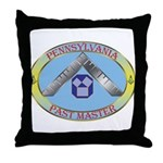 PA Past Master Throw Pillow