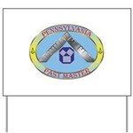 PA Past Master Yard Sign