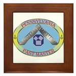 Pennsylvania Past Master Framed Tile