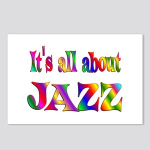All About Jazz Postcards (Package of 8)