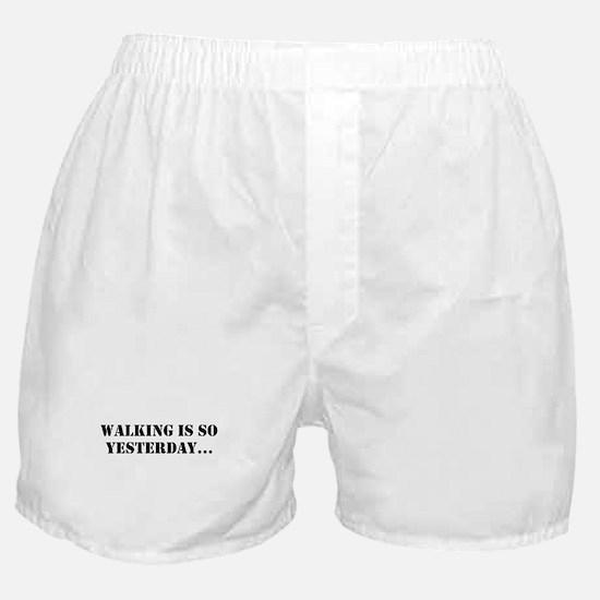 White Boxer Shorts