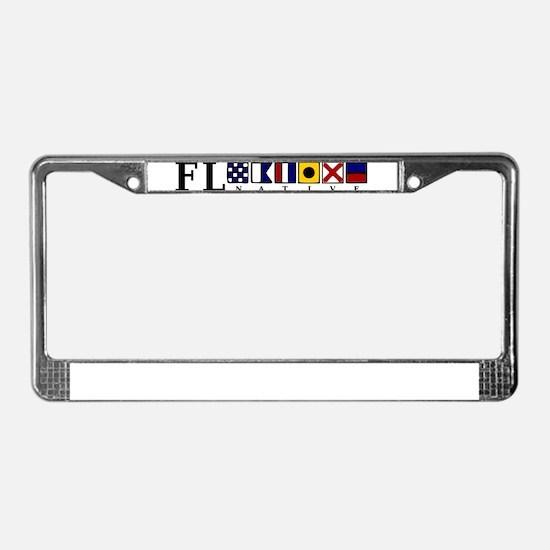 FL native License Plate Frame