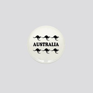Kangaroos Australia Mini Button/Badge