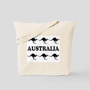 Kangaroos Australia Tote Bag