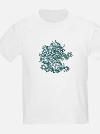 Teal Dragon T-Shirt