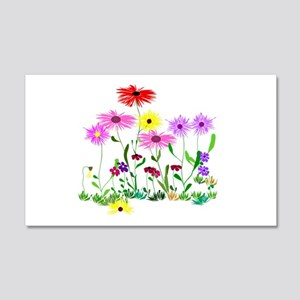 Flower Bunch 20x12 Wall Decal