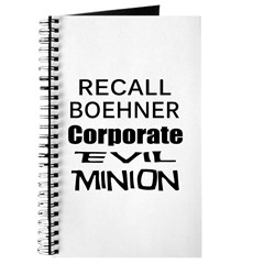 Recall John Boehner Journal