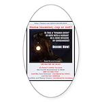 Decide NOW Sticker (Oval 50 pk)